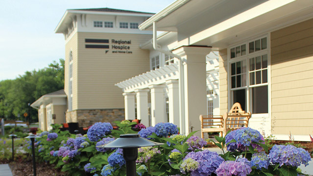 Outside of Regional Hospice and Home Care Center