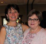 Volunteers Sharon Siegel & Louise Burnette