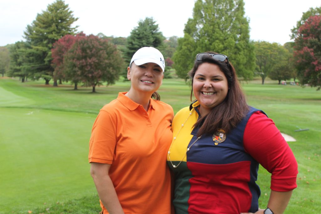 golfers at regional hospice golf tournament