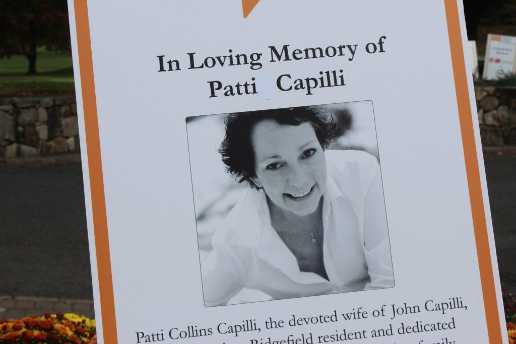 memorial poster for patti capilli