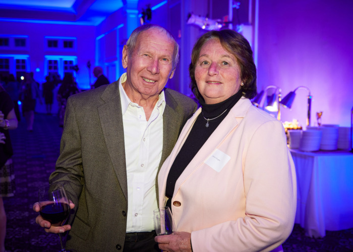 Regional Hospice Reveal for Building Under the Stars Attendees