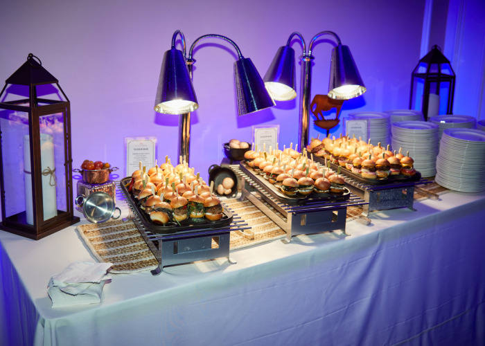 Appetizers at the Regional Hospice Reveal for Building Under the Stars