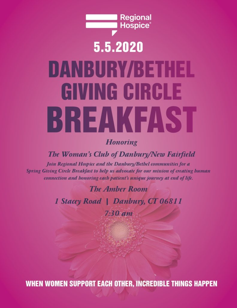regional hospice giving circle breakfast